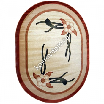 0275A CREAM-BEIGE OVAL