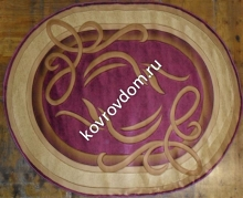 0094 VIOLET-CREAM OVAL