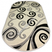 1121A CREAM-GREY OVAL